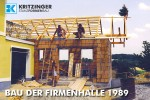 Kritzinger Firmenhalle 1989