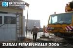 Baustelle Firmenhalle 2006