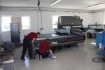 Installation Laseranlage