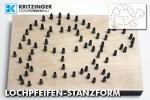 Lochpfeifen-Stanzform