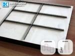 Perforationsform geradlinig