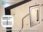Stanzform für Tiefziehteil (Türfüllung KFZ)
