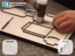 Stanzform für Schachtel (Kartonagen)