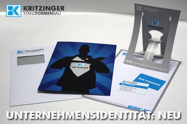 Unternehmensidentität Kritzinger Stanzformenbau