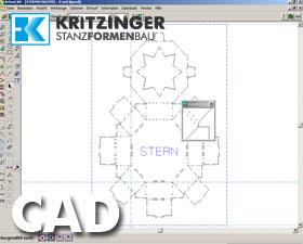 CAD Programm für Stanzformentwurf