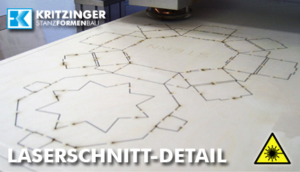 Laser-Schneidanlage detail